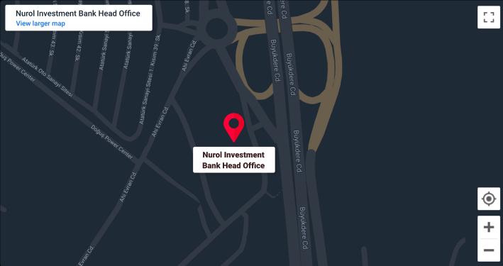 Nurol Bank Map